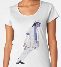 Michael Jackson Women's Premium T-Shirt