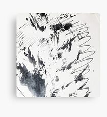 Ink Splash  Canvas Print