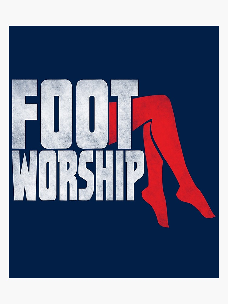 Foot Fetish Foot Worship Photographic Print