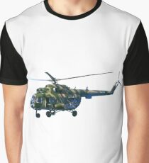 army helicopter Graphic T-Shirt