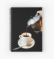 Fresh coffee for one Spiral Notebook
