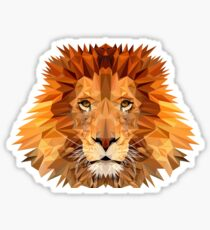 Lion: King of the Jungle  Sticker