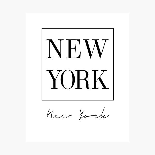 New York, City, Scandinavian, Nordic, Fashion print, Scandinavian art, Modern art, Wall art, Print, Minimalistic, Modern Photographic Print
