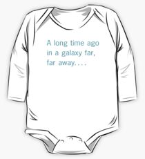 A long time ago in a galaxy far, far away. . . . Kids Clothes