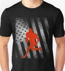 Americam Football Shirt USA American flag T-Shirt