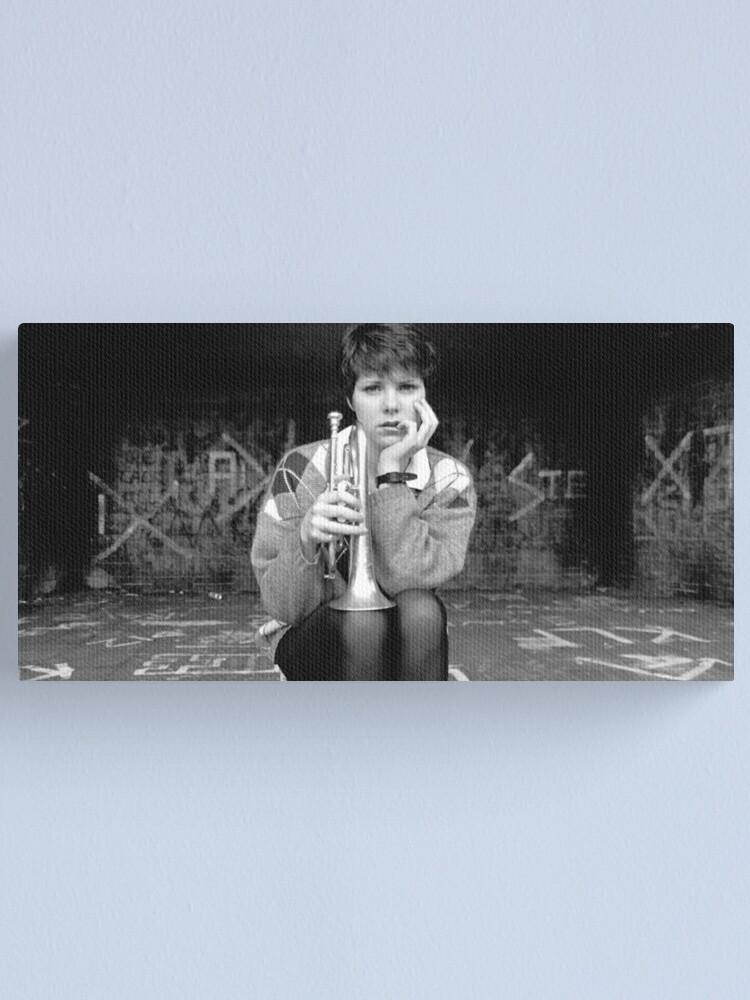 Alternate view of Trumpet Canvas Print