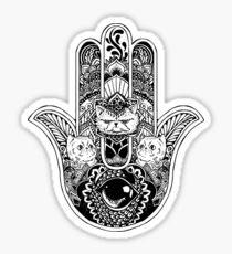 Hamsa Hand Persian Cat Sticker