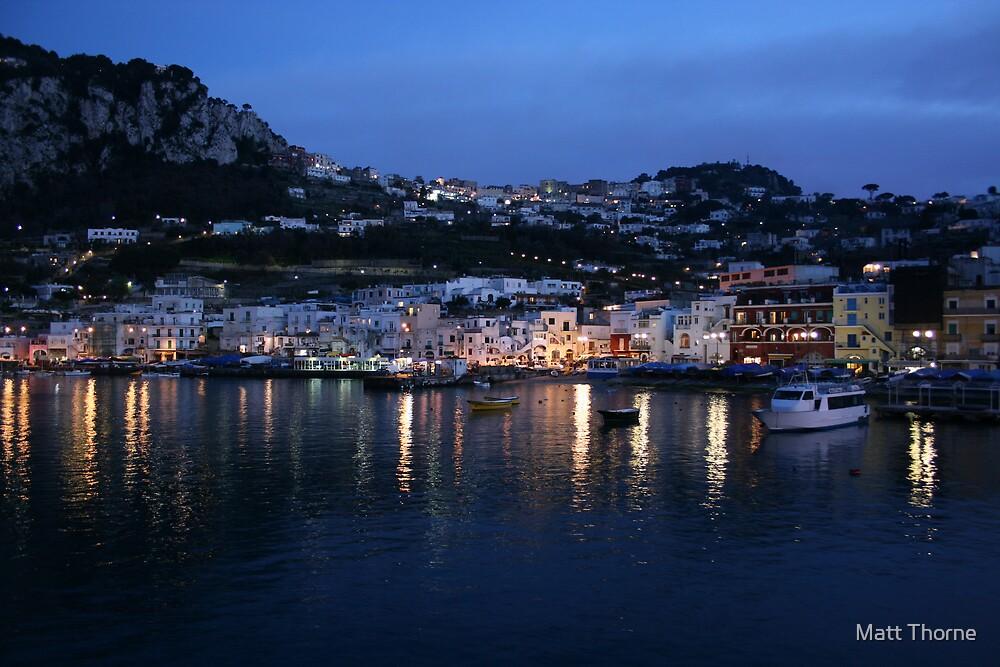 'Capri' by Matt Thorne