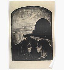 Edvard Munch, Attraction I Poster