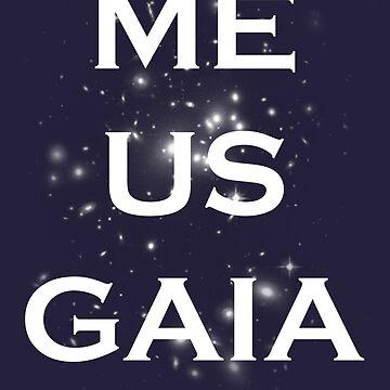 Me/Us/Gaia by WarpDustDesign