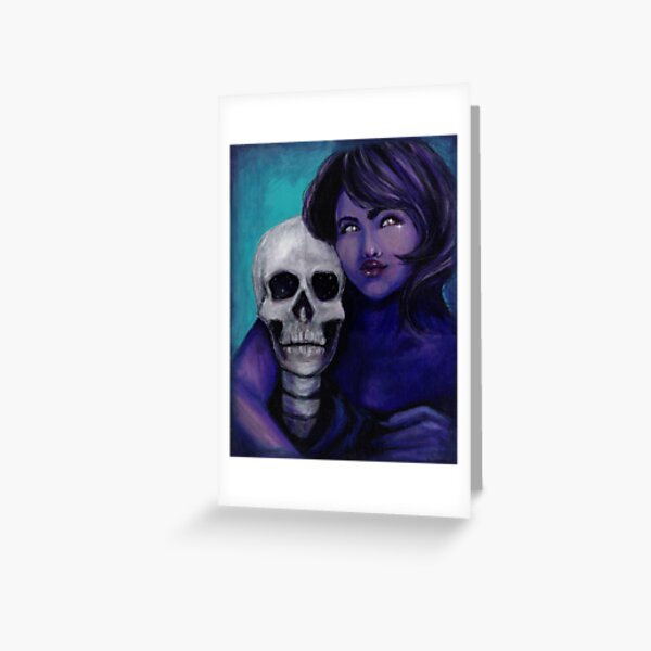 Death and the Maiden #0002 Greeting Card
