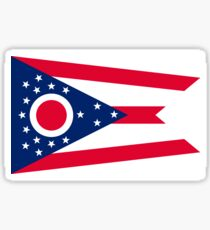 Flag of Ohio Sticker