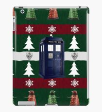 Ugly Christmas Police Box iPad Case/Skin