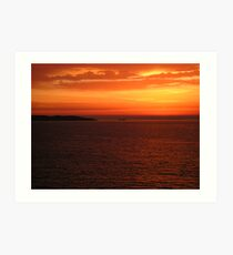 Cyclades Sunrise Art Print