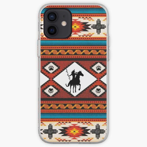 Tribal, Native American, Ethnic Pattern iPhone Soft Case