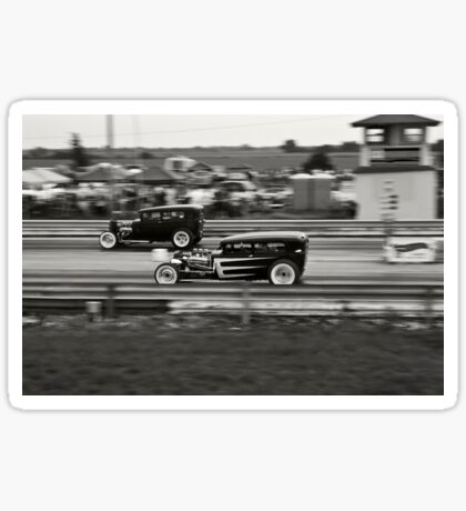 Nostalgia Drag Racing Sticker