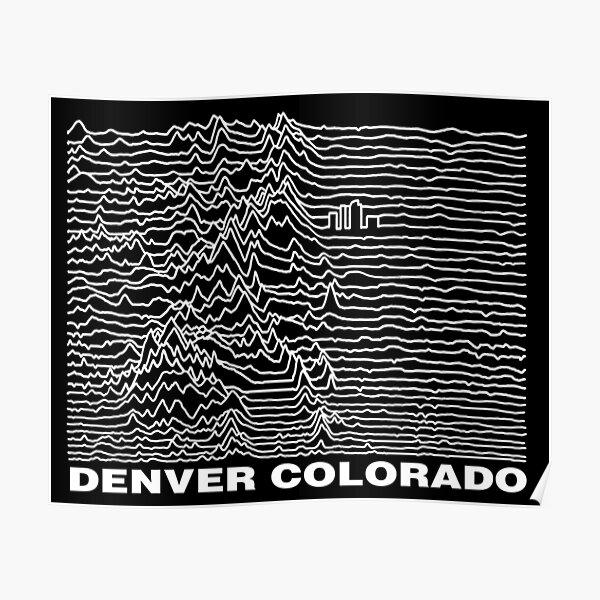 Denver Colorado, Unknown Ranges Poster