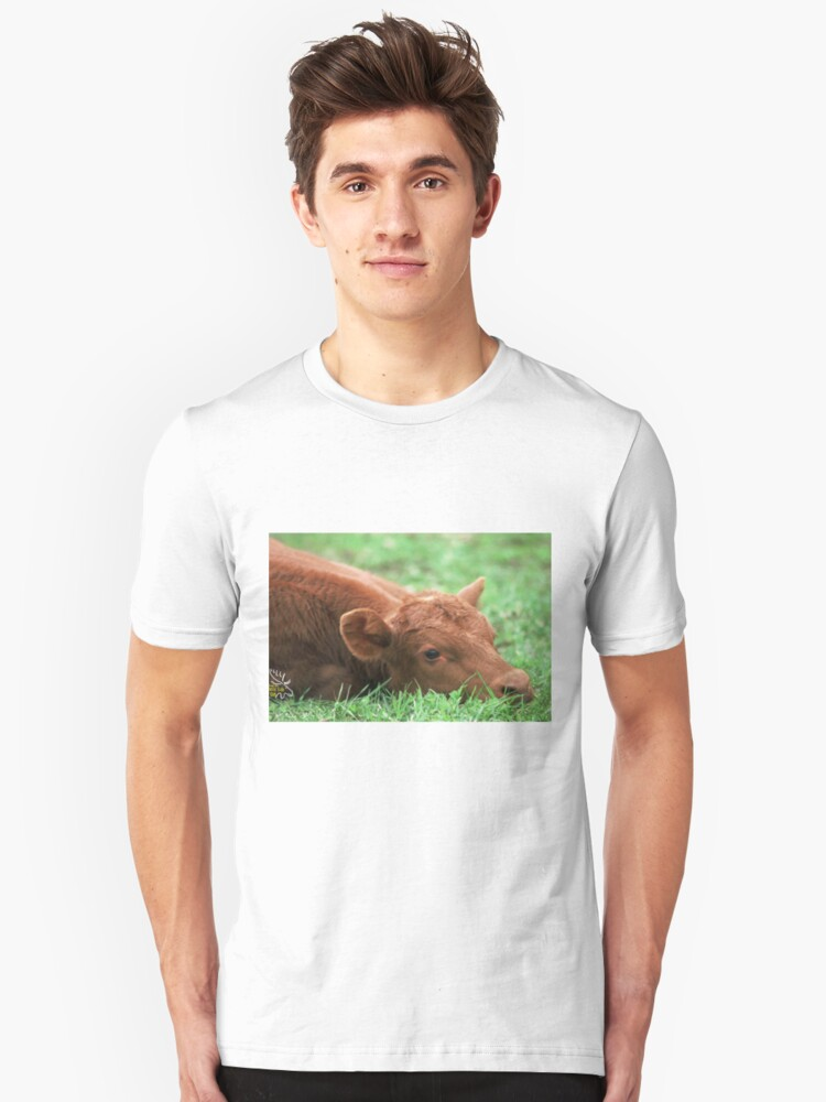 Nap in the pasture Unisex T-Shirt Front