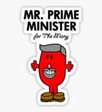 MR. PRIME MINISTER - JEREMY CORBYN - LABOUR PARTY Sticker