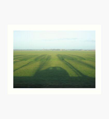 flat country Art Print