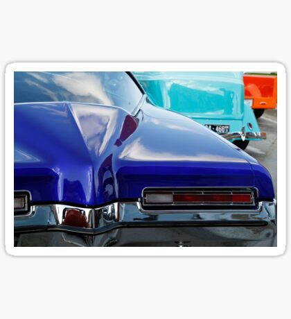 Blue Boattail Buick Sticker