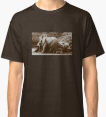 Elephants naptime Classic T-Shirt