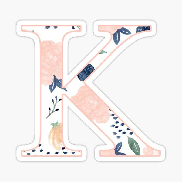 Floral Kappa Sticker