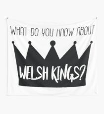 Welsh Kings Wall Tapestry