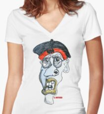 The Guru Women's Fitted V-Neck T-Shirt