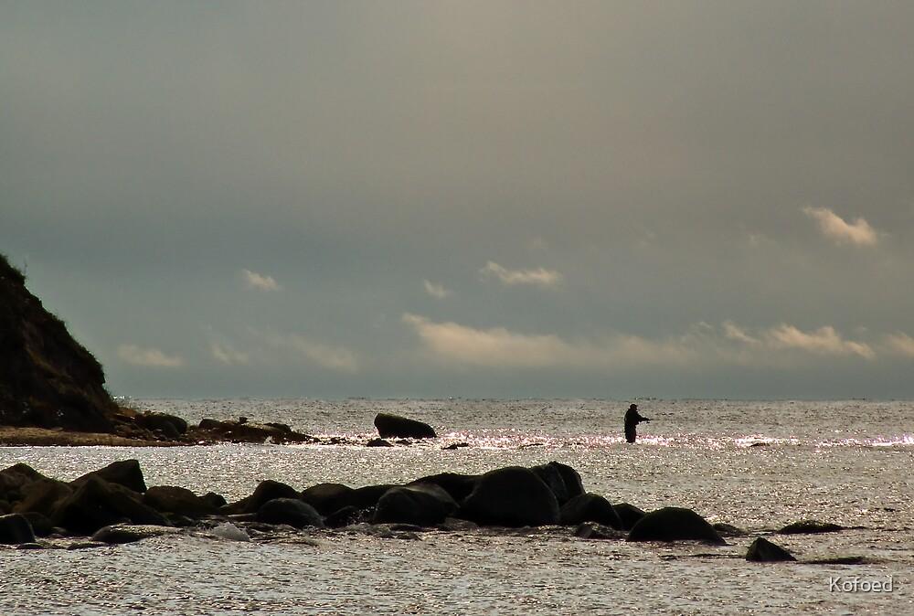 Lone Fisherman by Kofoed