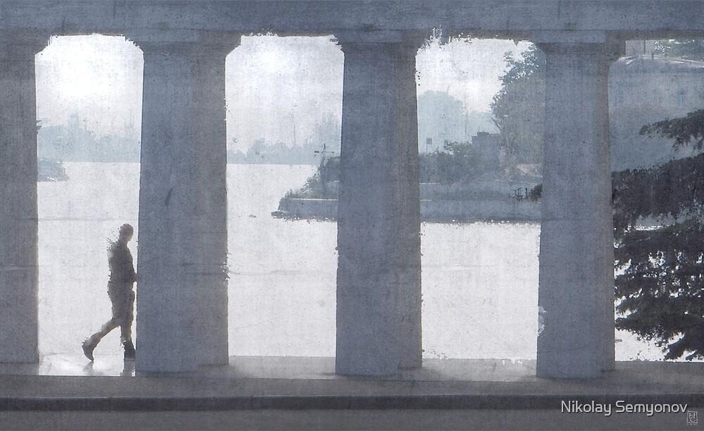 Embankment. Backlight by Nikolay Semyonov