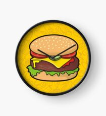 Cheeseburger Clock