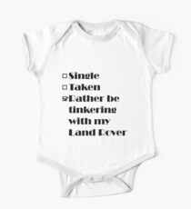 Rather be tinkering with my Land Rover Kids Clothes
