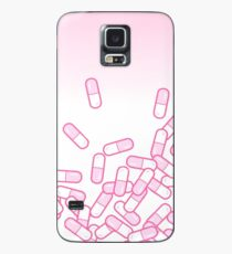 Pink Pills Gradient Case/Skin for Samsung Galaxy
