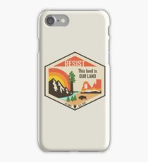 Support ALT NPS iPhone Case/Skin
