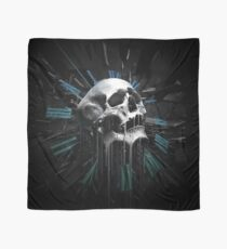 Time travel-skull Scarf