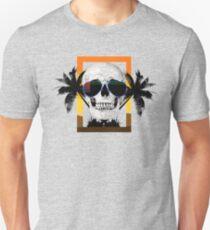Beach Skull Unisex T-Shirt