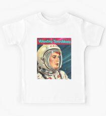 Valentina Tereshkova-Vostok 6 Kids Tee