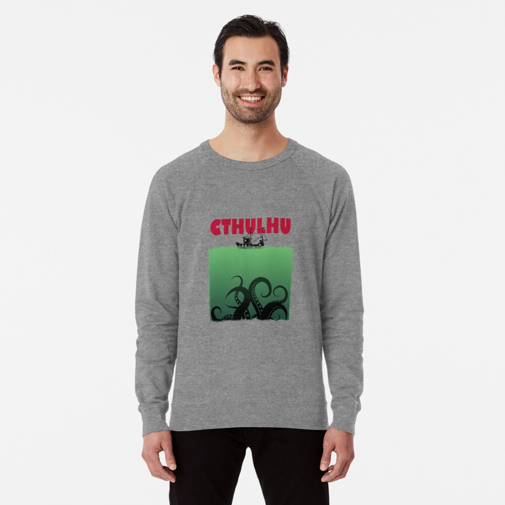 Cthulhu Jaws Lightweight Sweatshirt