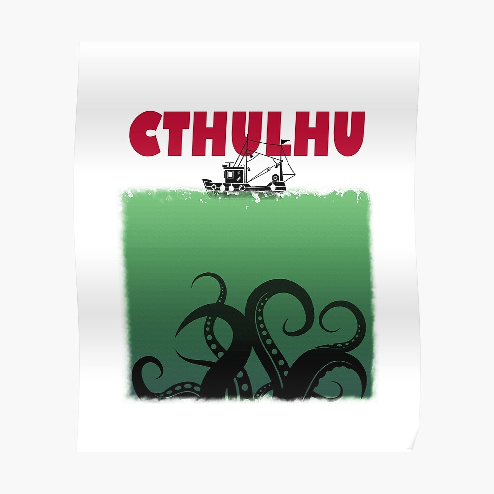 Cthulhu Jaws Poster