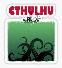 Cthulhu Jaws Sticker
