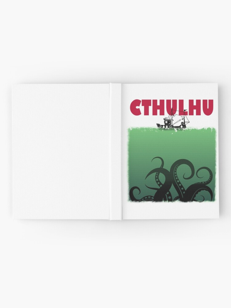 Alternate view of Cthulhu Jaws Hardcover Journal