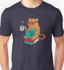 Drink good coffee and read good books Unisex T-Shirt