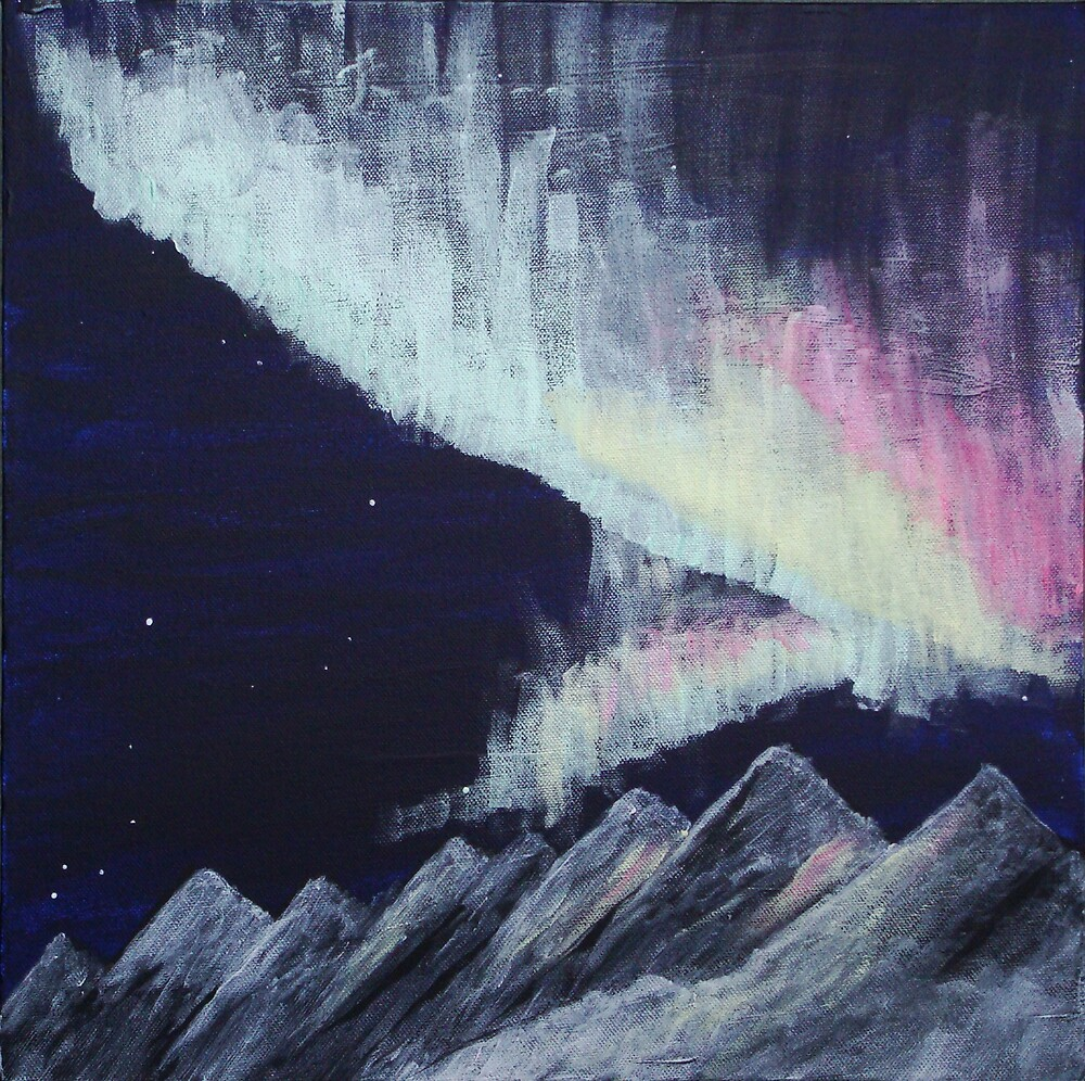 nordlys (northern lights) by mrbpaints