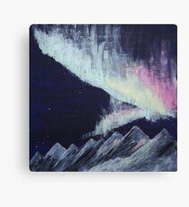 nordlys (northern lights) Canvas Print