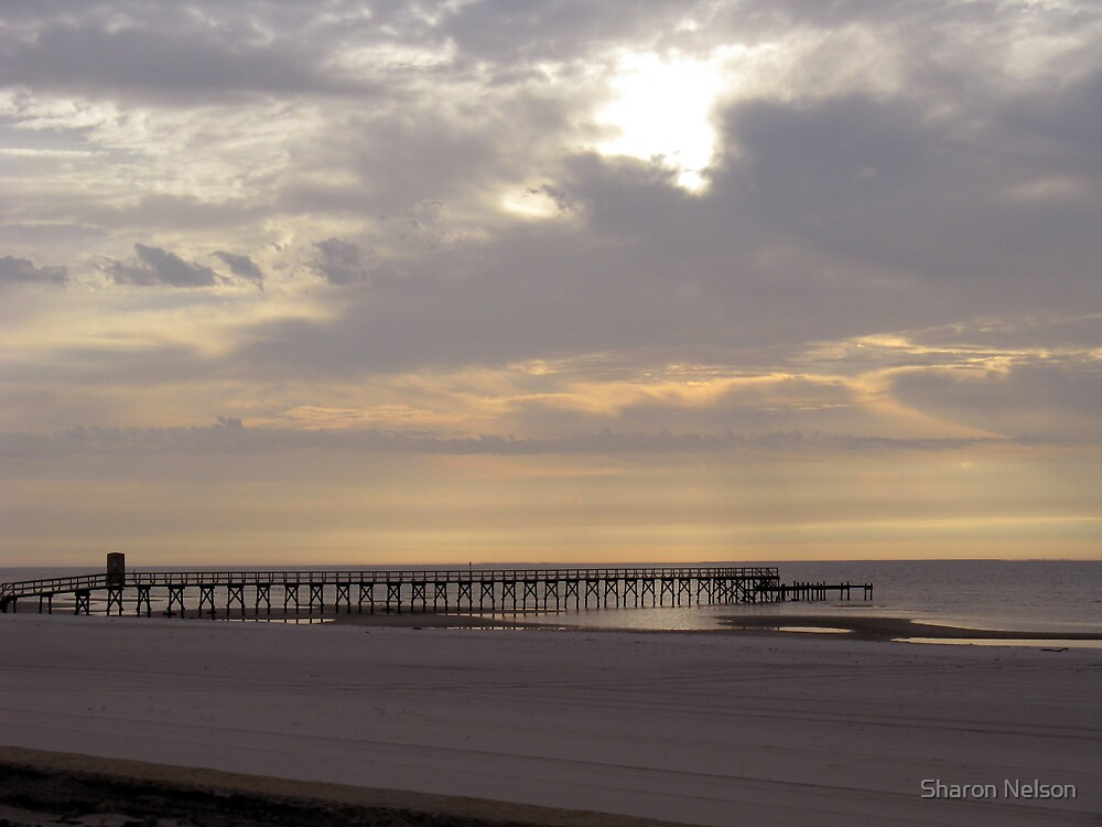 Bay St. Louis Sunset by Sharon Nelson