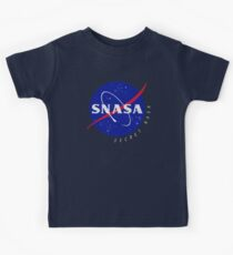 SNASA (Secret NASA - Logo) Kids Tee