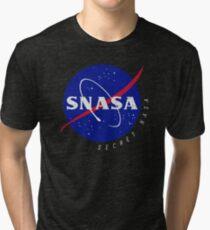 SNASA (Geheime NASA - Logo) Vintage T-Shirt