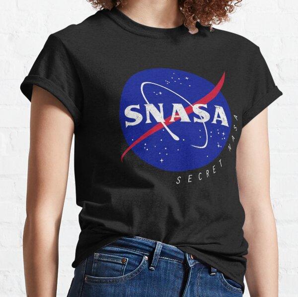 SNASA (Secret NASA - Logo) T-shirt classique