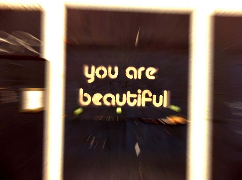 u r beautiful ... by SNAPPYDAVE